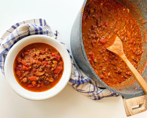 Homemade Chilli