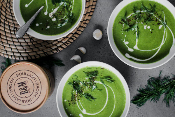 Creamy Green Soup