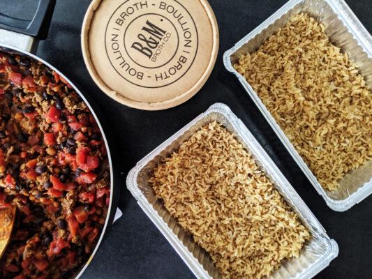 Chili and Brown Rice